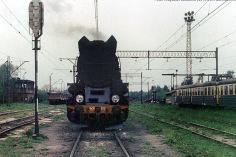 Ty51 i EN57 na torach PMP-PW w Pyskowicach
