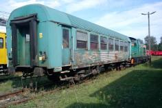 Przyjazd wagonu do zakłądu napraw w Pyskowicach