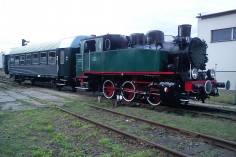 15.09.2012 impreza z udziałem parowozu TKh05353 i wagonu 94A w Pyskowicach