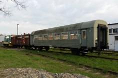 Przetoki z wagonem do piaskowania (foto Piotr Mróz)
