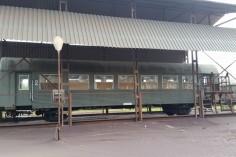 Wagon ustawiony i przygotowany do piaskowania (foto Piotr Mróz)