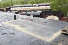 Doszczelnianie dachu (foto Piotr Mróz)