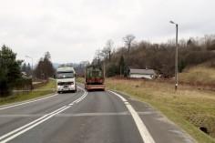 W drodze na śląsk mijamy widoczną linie kolei drezynowych Ucherce Mineralne Krościenko (foto Krzysztof Jakubina)