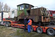 Zabezpieczanie lokomotywy (foto Krzysztof Jakubina)