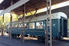Wagon 8543 oczekuje na piaskowanie (foto Piotr Mróz)