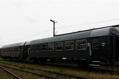 Efekt końcowy dwóch spiętych wagonów 8543 i 8535 (foto Piotr Mróz)