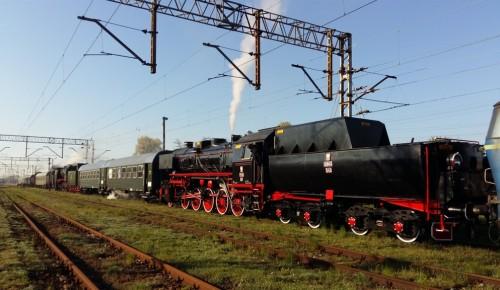Postój techniczny w Rawiczu (foto Piotr Mróz)