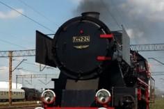 Ty42-24 podczas manewrów w Lesznie (foto Piotr Mróz)