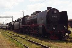 Skład w oczekiwaniu na wyjazd z Leszna do Wolsztyna (foto Piotr Mróz)