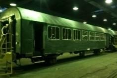 Gotowy wagon 8543 czeka na malowanie (foto Kamil Melich)