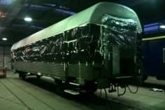 Gotowy wagon8535 czeka na malowanie (foto Kamil Melich)