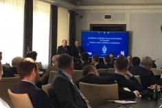 Wystąpienie przedstawicieli zarządu TOZKiOS podczas konferencji (foto Kamil Filipowski)
