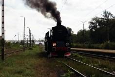 Oblot na stacji w Bieruniu