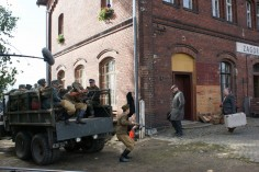 Transport jeńców niemieckich (foto Piotr Mróz)