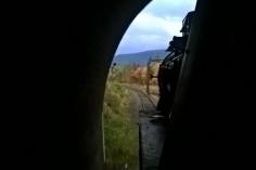 Wyjazd z tunelu (foto Kamil Melich)