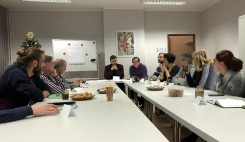Spotkanie przedstawicieli stowarzyszeń z Pyskowic (foto Piotr Mróz)