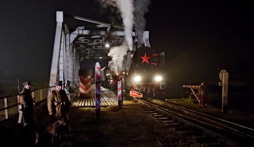 Filmowe przejście graniczne w Taciszowie (foto Marcin Jalowski)