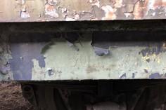 Zachowane opisy na wagonie (foto Piotr Mróz)