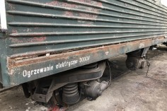Sprawy blacharlskie na wagonie 8542