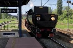 Ty42-24 manewruje w stacji Pyskowice (Foto: Piotr Mróz)