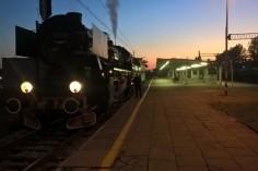 Stacja Chorzów Miasto i Maszynista Mateusz (foto Krzystof Jakubina)
