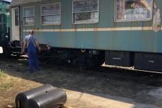 Druga strona wagonu