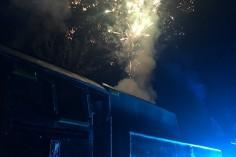 Pokaz sztucznych ogni (foto Piotr Mróz)