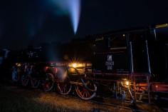 W trakcie nocnych pokazów nasz Ty42-24 (foto Piotr Borowiak)